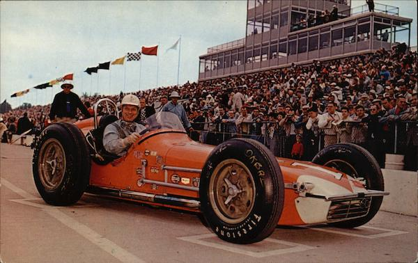500 Mile Race, Tony Bettenhousen Indianapolis Auto Racing
