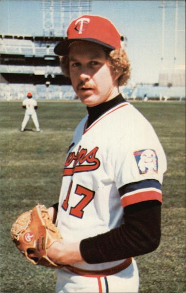 Pete Redfern, 1978 Minnesota Twins Baseball