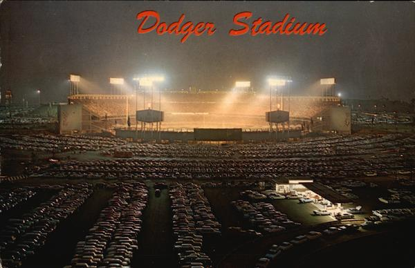Dodger Stadium Los Angeles California