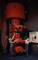 "Full-Sized Plastic Model of ""Blowout Preventer"", Permian Basin Petroleum Museum"