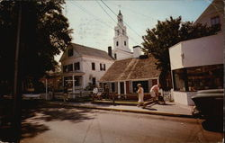 Street Scene at Provincetown, Cape Cod