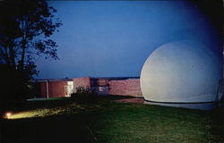 Museum Planetarium at Night