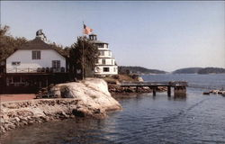 Lighthouse and Clipper, Sebasco Lodge