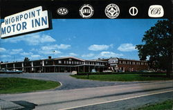 Highpoint Motor Inn Postcard