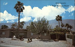 Jerry Lewis' Palm Springs Home