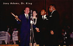 Joey Adams, Dr. King