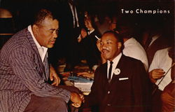 """Two Champions"" Joe Louis and Dr. King"