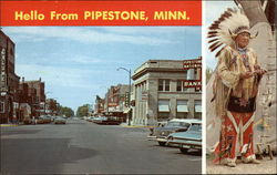 Hello from Pipestone Postcard