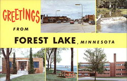 Greetings from Forest Lake, Minnesota