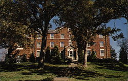 Melrose Hall, William Jewell College Postcard