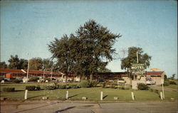 Welcome Motel, Jct. U.S. Highways 36 & 63 Postcard