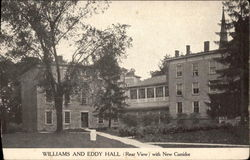 Williams and Eddy Hall (Rear View)