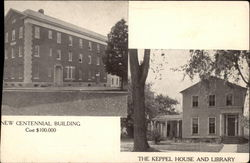 New Centennial Building & The Keppel House and Library, Cazenovia Seminary Centennial