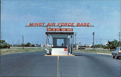 South Gate of Minot Airforce Base