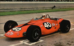 Parnelli Jones, 1963 Indianapolis Race Winner