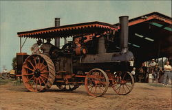 Antique Peerless Steam Tractor