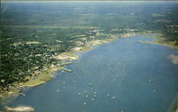 Aerial View of Sippican Harbor
