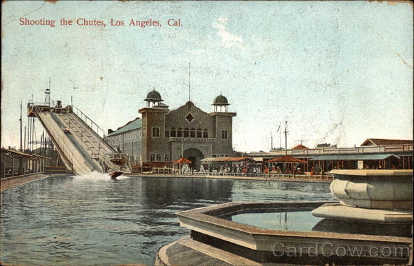 Shooting the Chutes in Los Angeles, California
