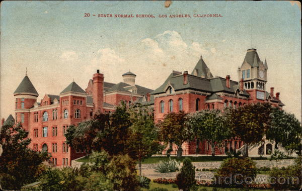 State Normal School Los Angeles California