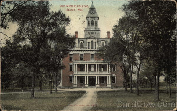 Old Middle College Beloit Wisconsin