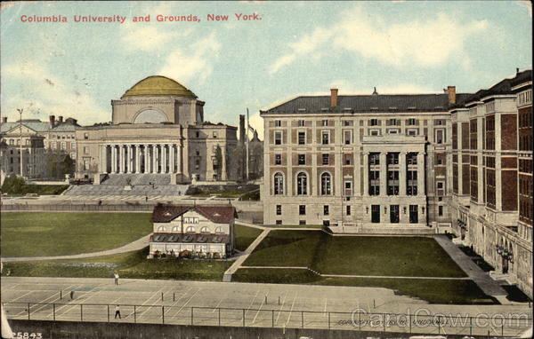 Columbia University and Grounds New York