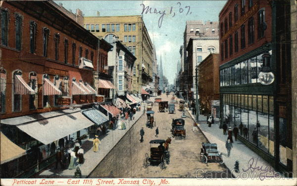 Petticoat Lane, East 111th Street Kansas City Missouri