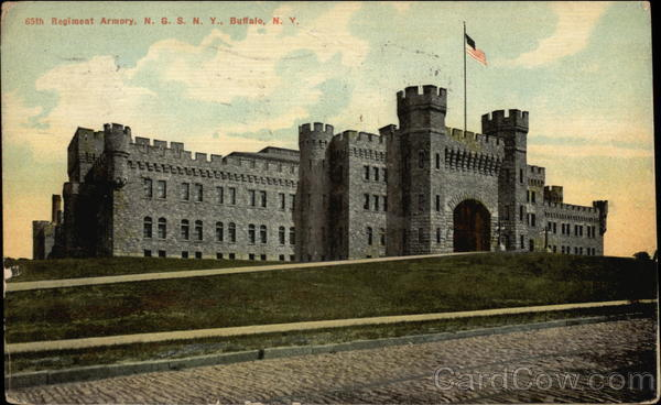 Regiment Armory, N.G.S.N.Y Buffalo New York