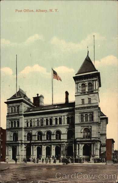 Post Office, Albany, N.Y New York
