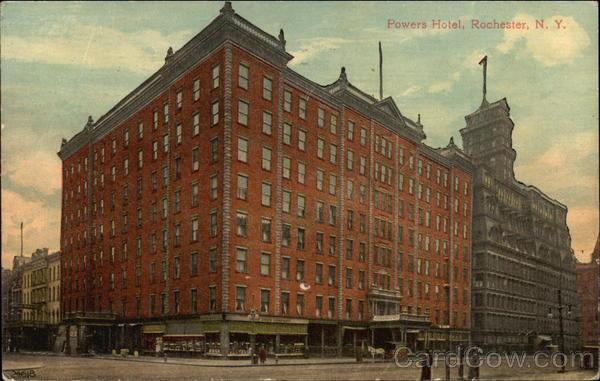 Powers Hotel Rochester New York