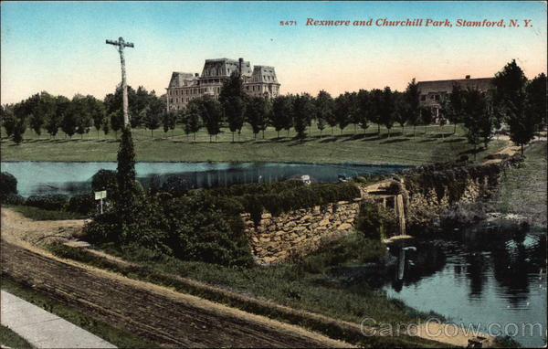 Rexmere and Churchill Park Stamford New York