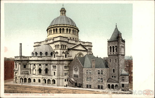 Christian Science Cathedral Boston Massachusetts
