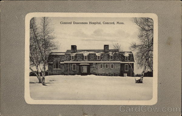 Concord Deaconess Hospital Massachusetts