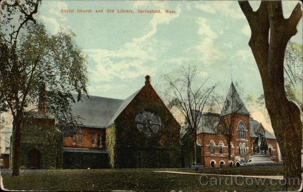 Christ Church and Old Library Springfield Massachusetts