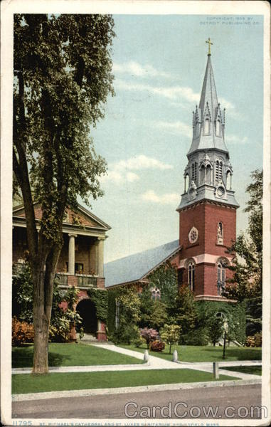 St. Michael's Cathedral and St. Luke's Sanitarium Springfield Massachusetts