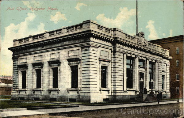 Post Office Holyoke Massachusetts