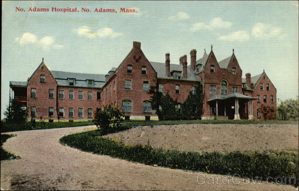 No. Adams Hospital North Adams Massachusetts