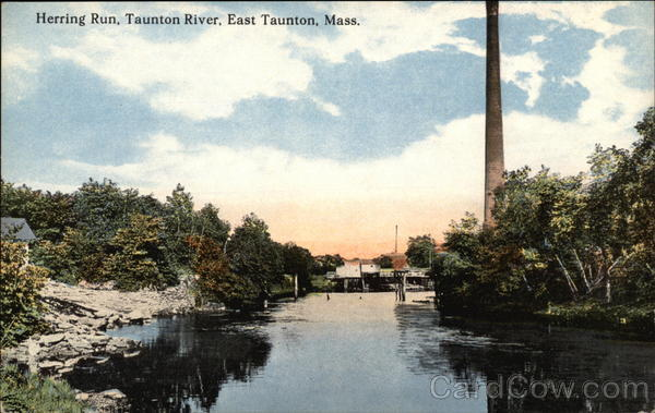Herring Run, Taunton River East Taunton Massachusetts