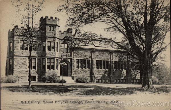 Art Gallery, Mount Holyoke College South Hadley Massachusetts