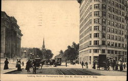 Looking North on Pennsylvania From Ohio St., Showing K. of P. Bldg