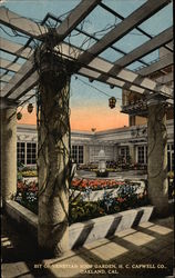 Bit of Venetian Roof Garden, H.C. Capwell Co