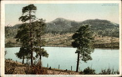 Santa Fe Lake and Bill Williams Mountain