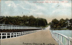 Floating Bridge Over 100 Years Old
