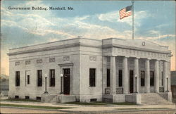 View of Government Building Postcard