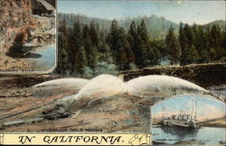 Hydraulic Gold Mining in California