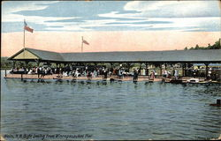 Sight Seeing from Winnepesaukee Pier Postcard