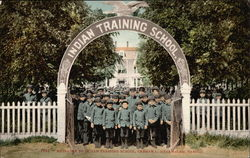 Entrance to Indian Training School