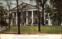 Residence of Ansley Wilcox Postcard