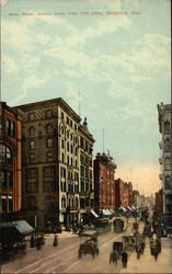 Main Street, looking south from Post Office Postcard