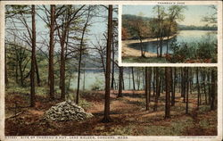 Site of Thoreau's Hut, Lake Walden