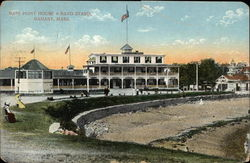 Bass Point House & Band Stand in Nahant, Massachusetts